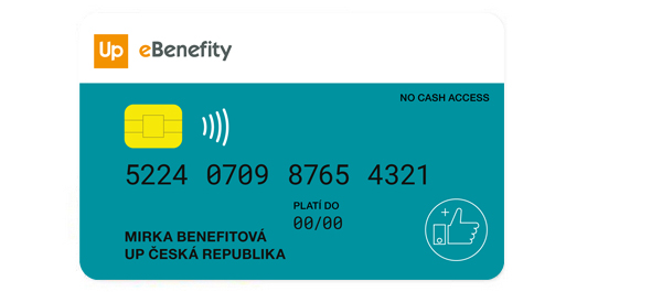 UP eBenefity card
